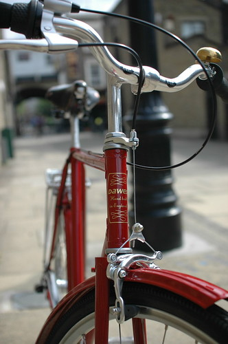 Hand made in England. Dia Compe centre pull brakes