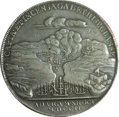 Vigo medal by John Croker reverse