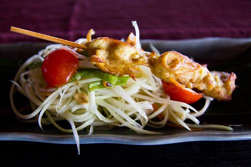 Amazing food at Baan Huraa