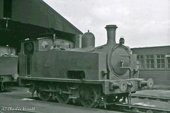 Hudswell Clarke 940 Manchester Ship Canal 52 - Mode Wheel 7 May 1966 (pondhopper1) Tags: steam railways msc uksteam 060t hudswellclarke modewheel manchestershipcalal