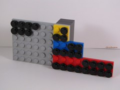 LEGO Fractions Helper (Bricknave) Tags: lego math moc bricknave