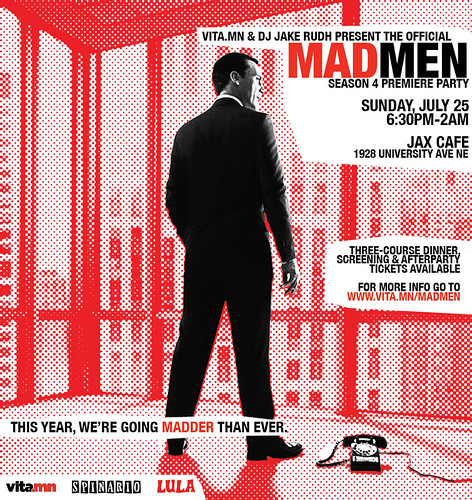Mad Men party 2010