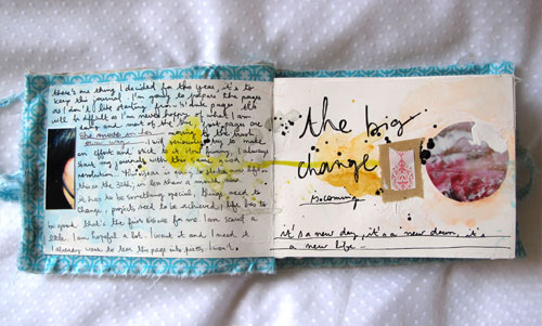 "Art Journal ""lost in relations"" p.1"