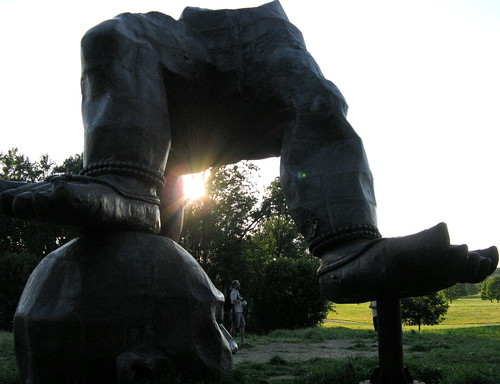 Silhouette, Three-Legged Buddha