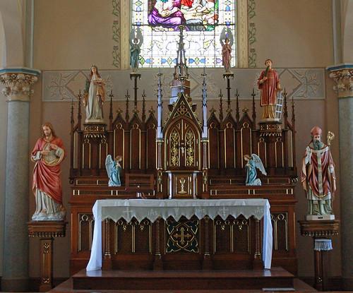 Altar Close Up