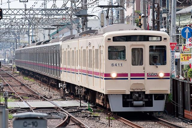 京王6000系6411F+京王9000系9001F 若葉台へ回送