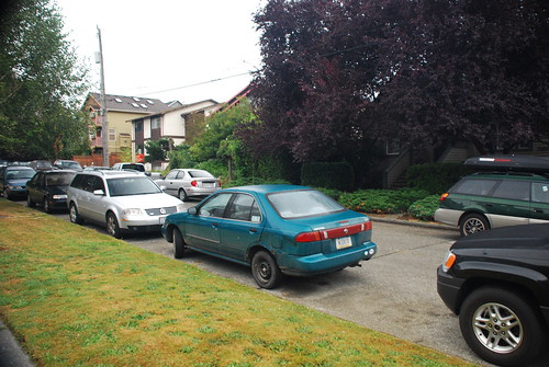 Last look at my 1997 Nissan Sentra GXE, near Green Lake, Seattle, WA
