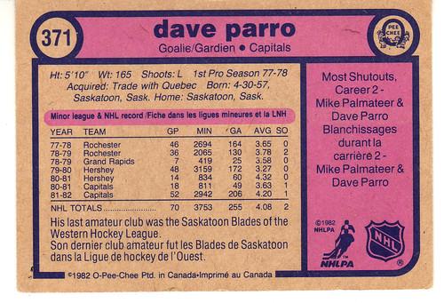 Dave Parro derriere