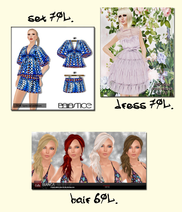 The Dressing Room BLUE NEW COLLECTION IS OUT !!!