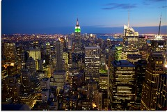 Top of the Rock! (Perry McKenna) Tags: nyc ny newyork canon nbc nightshot manhattan empirestate rockefellercentre bigapple 30rock rainbowroom 49thstreet gebuilding gothamcity 1740f4l iwishihadmytripod 5dmkii
