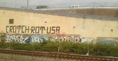 rust belt railside graffiti - 1