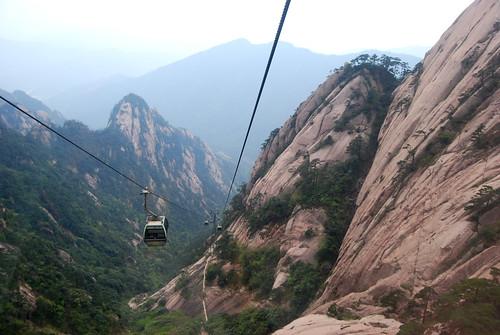 l123 - Yùpíng Cable Car Passing Lotus Stamens Peak