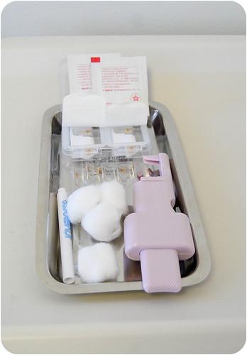Baby earring equipment