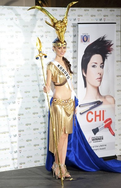 National Costume of Miss Kosovo