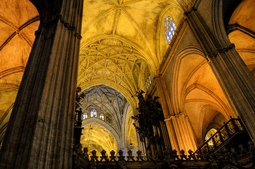 Seville cathedral. Catedral de Sevilla.