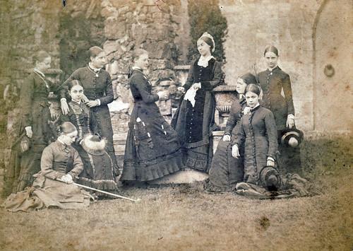 Girls' school, Watford. 1870s