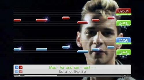 SingStore Update Depeche Mode_Master and Servant
