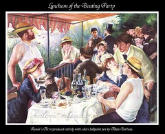 Luncheon of the Boating Party (Allan Barbeau) Tags: party pen allan boating luncheon ballpoint barbeau