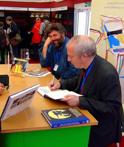 Edinburgh Book Festival 2010 - Steve Bell & Martin Rowson 03
