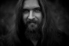 Hupogrammos (Daniel Dorobantu) Tags: portrait bw musician rock romania timisoara