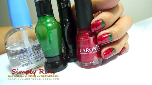 Nail Art Strawberries 04