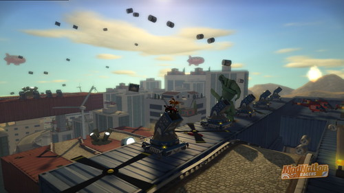"ModNation Racers for PS3: ""Sky Fleet"""