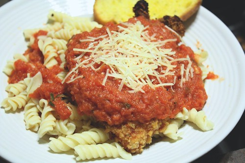 Light Chicken Parm