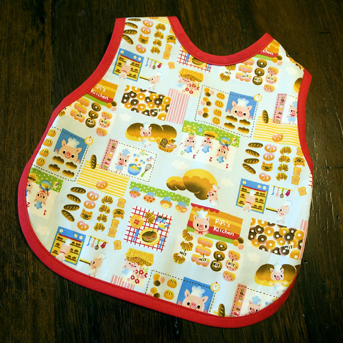 Pipi's Kitchen Bib - Front