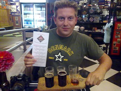 Jeg nærmer mig 30 forskellige øl, Roadtrip i USA