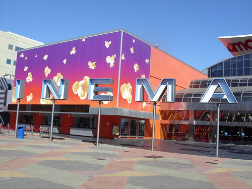 entrance to the amc imax cinemas at universal city walk