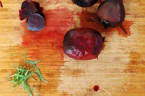beets and tarragon
