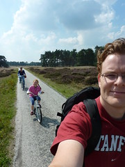 Us (oclipa) Tags: alex bicycle steve hoge veluwe arina