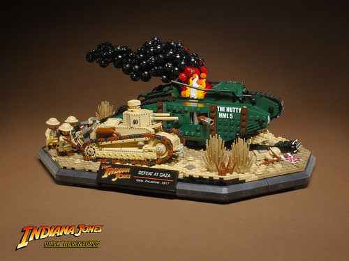 LEGO Young Indiana Jones diorama