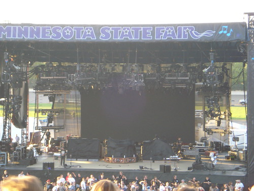 08/27/10 Rush Stage @ MN State Fair, St. Paul, MN