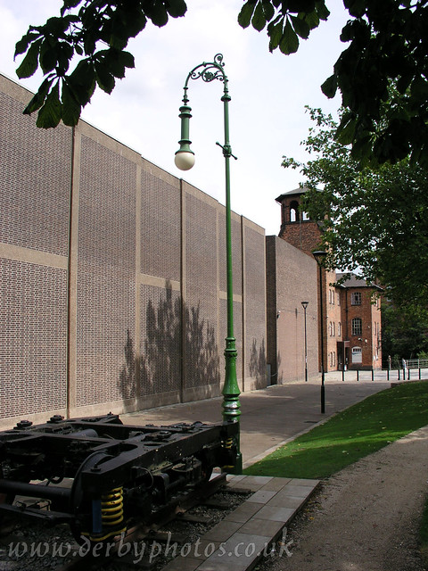 Handyside Lamp 4 of 4, Derby Cathedral Green