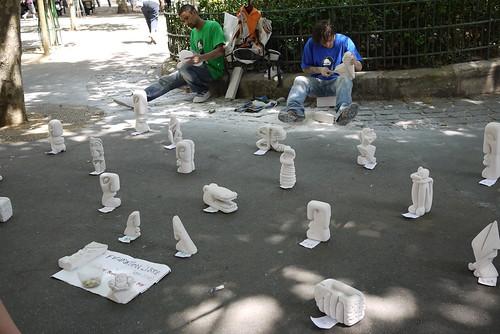 街頭藝術小販