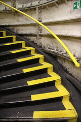 Tottenham Court Road, London (*regina*) Tags: london yellow stairs underground subway tube steps gelb ubahn tottenhamcourtroad stufen bigmomma thechallengegame challengegamewinner thechallengefactory