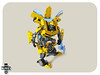 bumblebee (The Slushey One) Tags: black yellow one energy transformer slush bee bumblebee chevy sword bumble slushy hasbro slushee comaro notlego chevrolete slushey