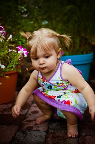 Crouching Baby
