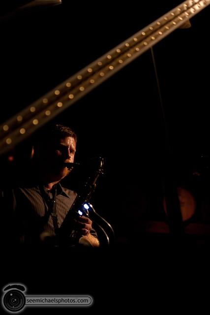 Joshua White Quartet at Dizzys 82610 © Michael Klayman-020