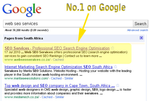 Cape Town SEO Company | Web SEO Services by Lake Lariba