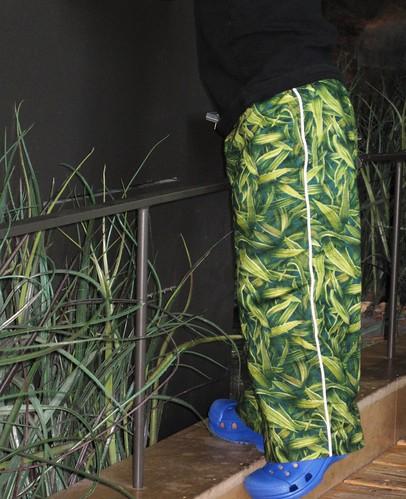 grass pants