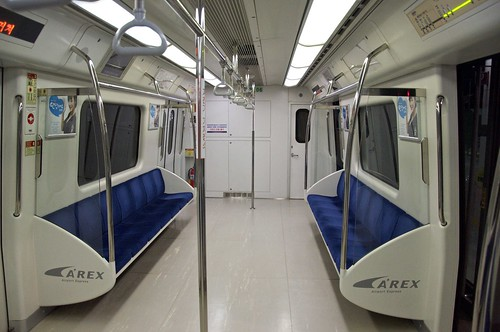Airport Express, ICN train link to Seoul