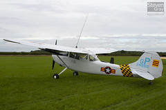 G-PDOG - 24550 GP - 24550 - Private - Cessna O-1E Bird Dog - Little Gransden - 100829 - Steven Gray - Content Fill Aware - IMG_2553