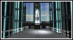 Interior building shots taken at La Ciudad de Mexico in Second Life (Peter Ellis) Tags: life building de mexico la shots interior taken ciudad second