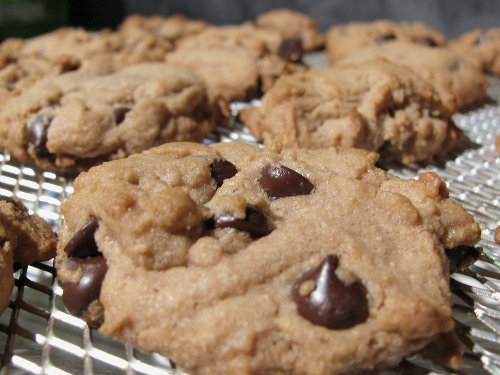 Hmmm....Peanut butter chocolate chip cookies