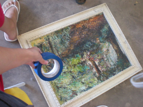 painting pre-frame paint