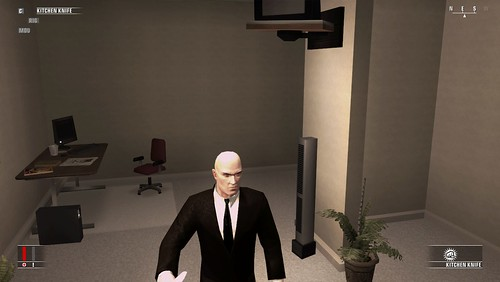Hitman - don't have a wall like this
