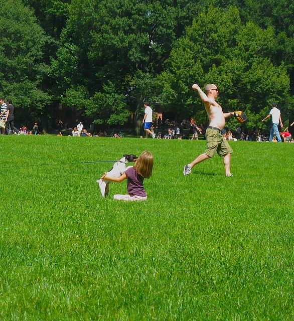 Central Park, Labor Day Week-End