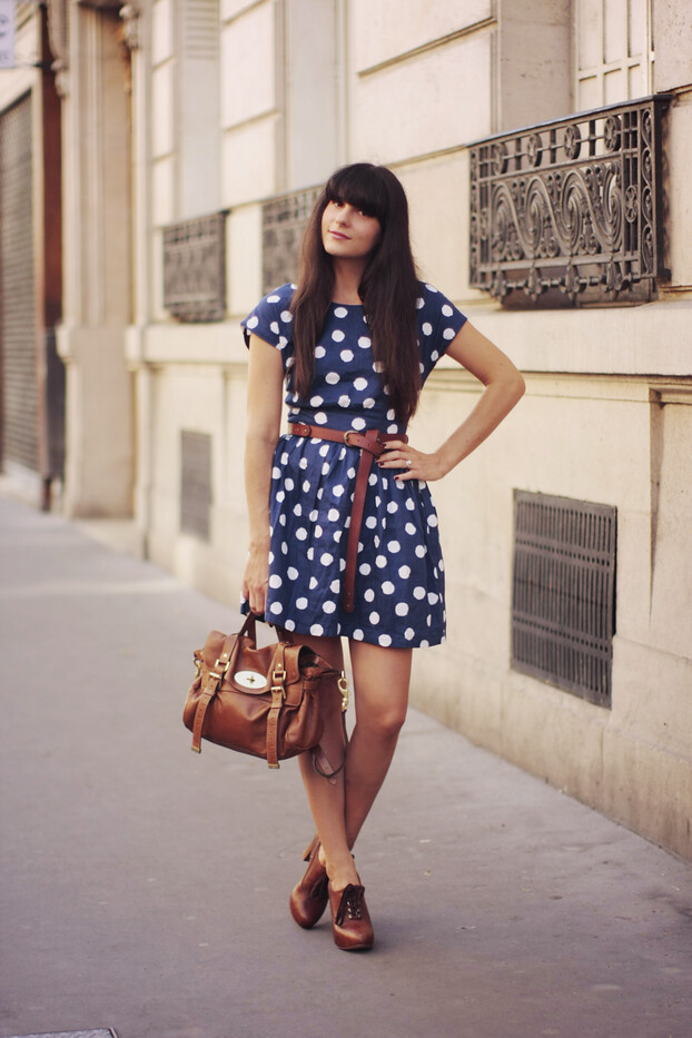 polka dots dress 02